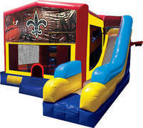 Nola Saints 7N1 Inflatable Combo Fun Jump